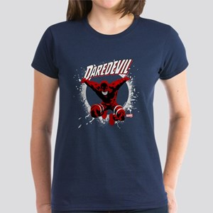 Jumping Daredevil Women's Dark T-Shirt
