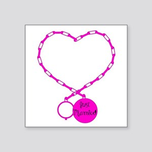 Ball and Chain love Sticker