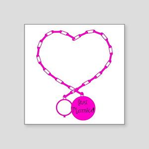 Ball and Chain love Sticker