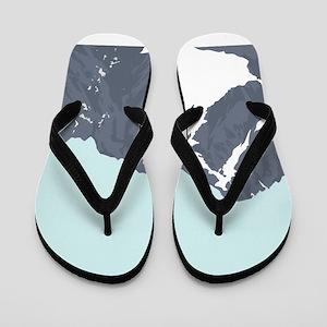 Mountain Peak Flip Flops