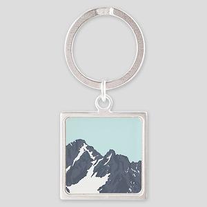 Mountain Peak Keychains