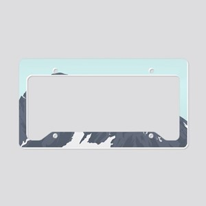 Mountain Peak License Plate Holder