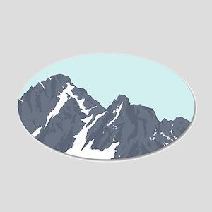 Mountain Peak Wall Decal