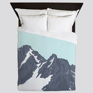 Mountain Peak Queen Duvet