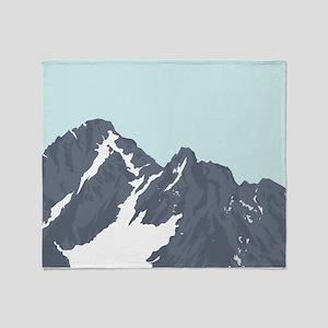 Mountain Peak Throw Blanket