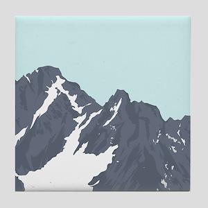 Mountain Peak Tile Coaster
