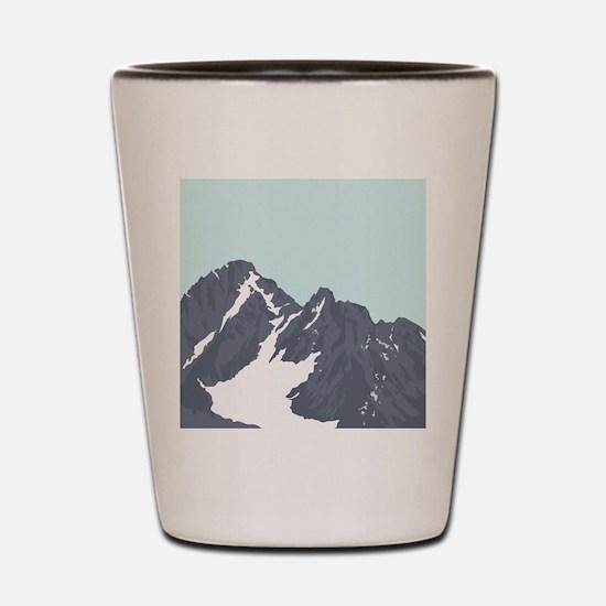 Mountain Peak Shot Glass