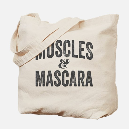 Muscles and Mascara Tote Bag