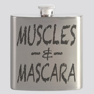 Muscles and Mascara Flask