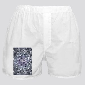 Optical Illusion Sphere - Monochrome Boxer Shorts
