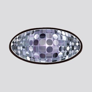 Optical Illusion Sphere - Monochrome Patches