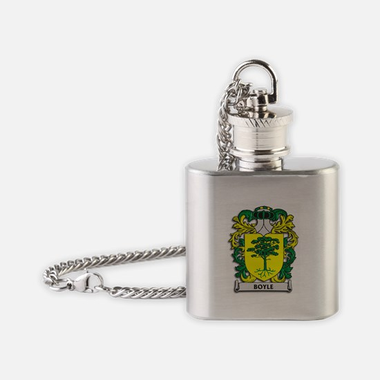 Boyle Coat of Arms Flask Necklace