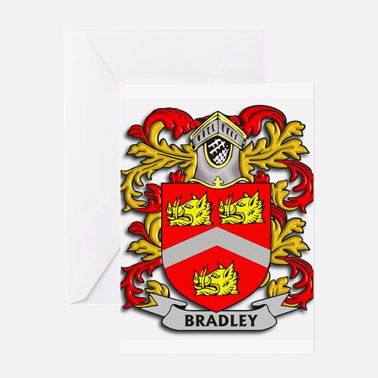 Bradley Coat of Arms Greeting Cards