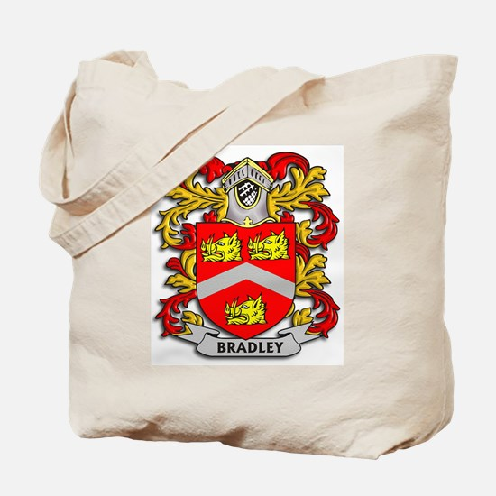 Bradley Coat of Arms Tote Bag