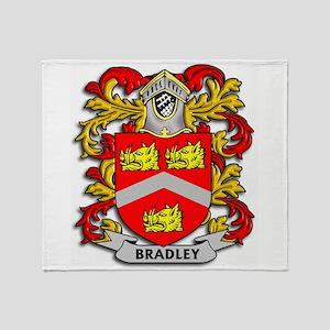 Bradley Coat of Arms Throw Blanket