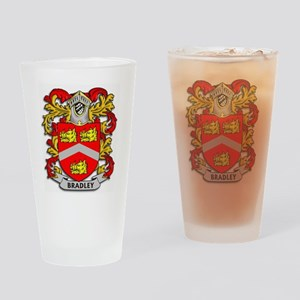 Bradley Coat of Arms Drinking Glass