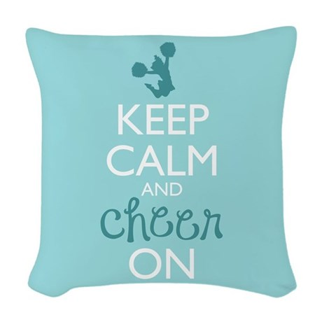 Keep Calm and Cheer Pillows