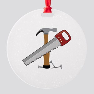 Tool Time Ornament