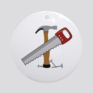 Tool Time Ornament (Round)