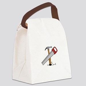 Tool Time Canvas Lunch Bag