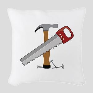 Tool Time Woven Throw Pillow
