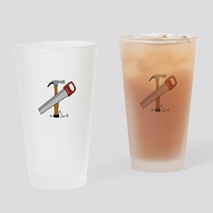 Tool Time Drinking Glass