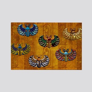 Harvest Moons Scarabs Magnets