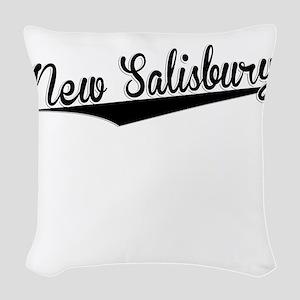 New Salisbury, Retro, Woven Throw Pillow