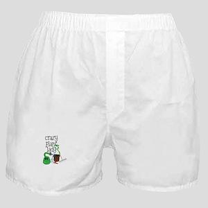 Crazy Plant Lady Boxer Shorts