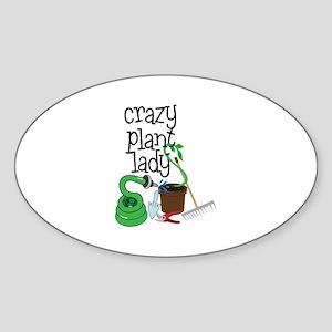 Crazy Plant Lady Sticker
