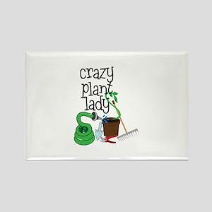 Crazy Plant Lady Magnets