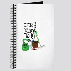 Crazy Plant Lady Journal