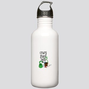 Crazy Plant Lady Water Bottle