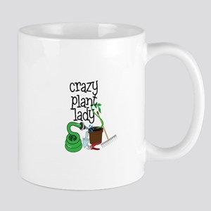 Crazy Plant Lady Mugs
