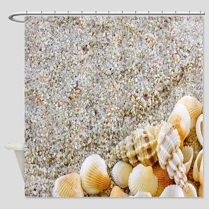 Beautiful Sea Shells Shower Curtain