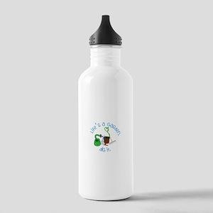 Lifes A Garden Water Bottle