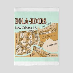 NOLA-Hoods Twin Duvet