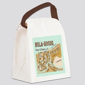 NOLA-Hoods Canvas Lunch Bag