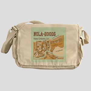 NOLA-Hoods Messenger Bag