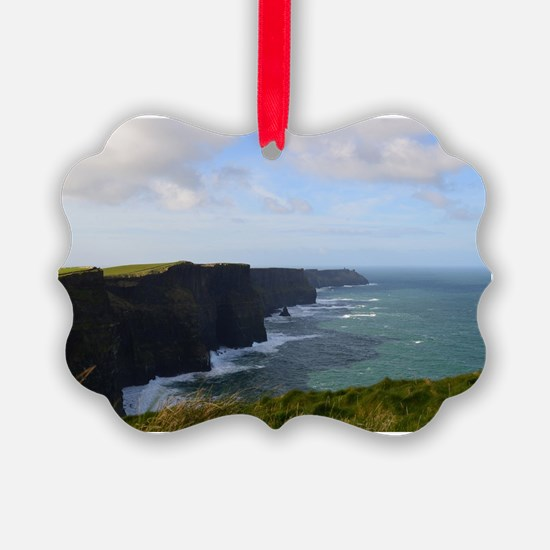 Sea Cliffs in Ireland Ornament