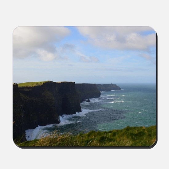 Sea Cliffs in Ireland Mousepad