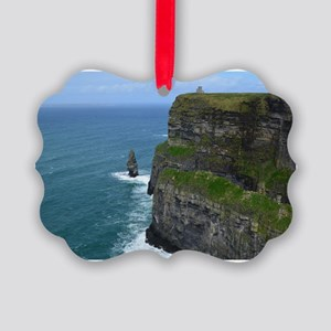 Needle Cliffs of Moher Picture Ornament