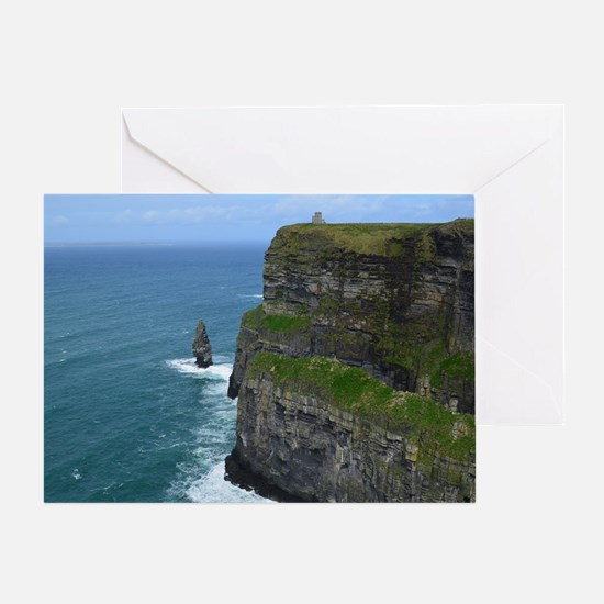 Needle Cliffs of Moher Greeting Card