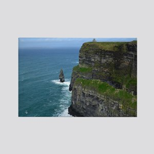 Needle Cliffs of Moher Rectangle Magnet