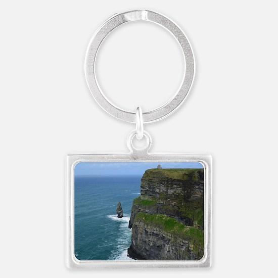 Needle Cliffs of Moher Landscape Keychain