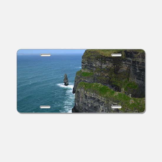 Needle Cliffs of Moher Aluminum License Plate