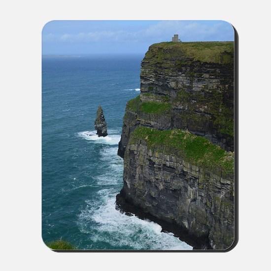 Gorgeous Sea Cliffs Mousepad