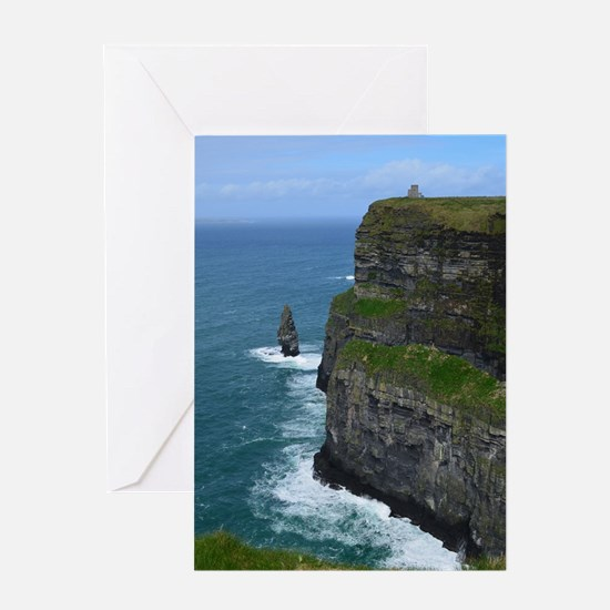 Gorgeous Sea Cliffs Greeting Card