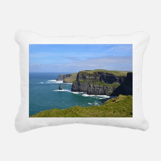 Cliffs of Moher Rectangular Canvas Pillow