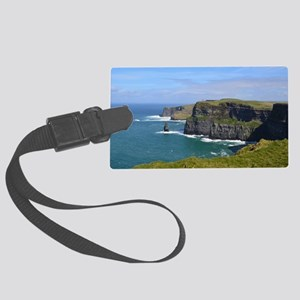 Cliffs of Moher Large Luggage Tag